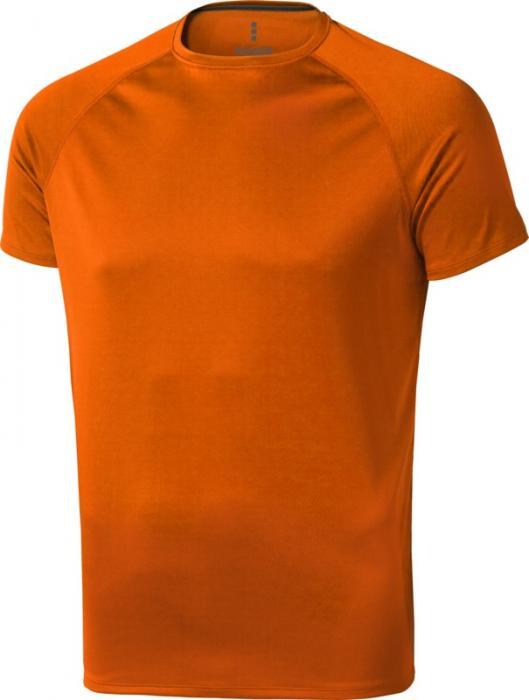 Camiseta Deportiva Naranja (2)
