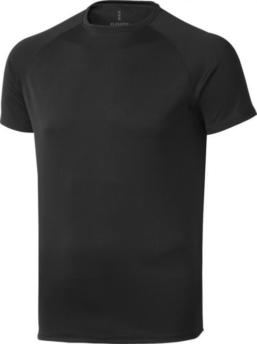 Camiseta Deportiva Negro (2)