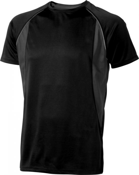Camiseta Deportiva Negro