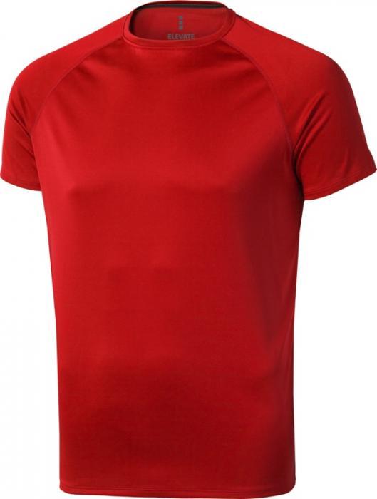 Camiseta Deportiva Rojo (2)