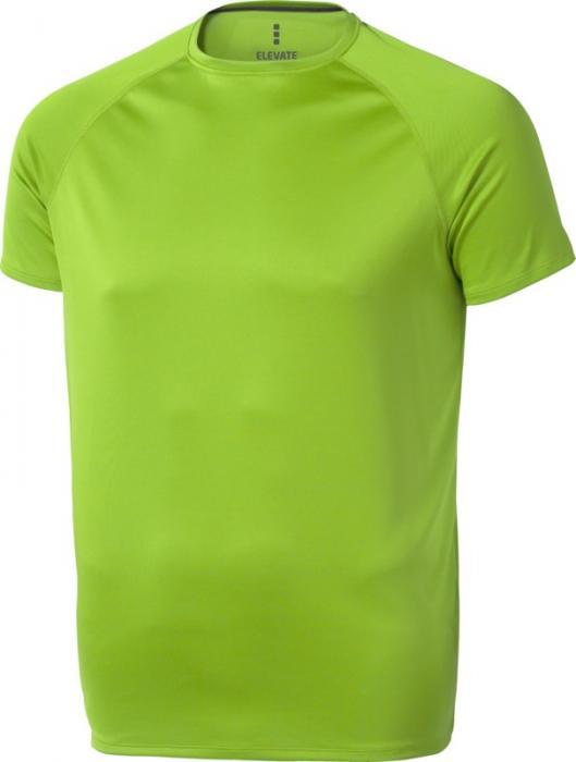 Camiseta Deportiva Verde Manzana